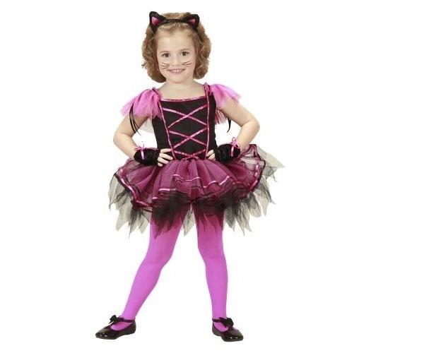 Kostüm Ballerina Kätzchen Gr. 110
