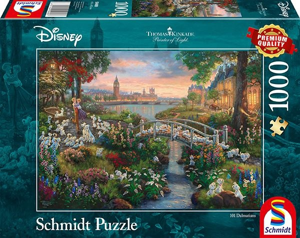 Schmidt Spiele Puzzle Disney 101 Dalmatiner 1000 Teile