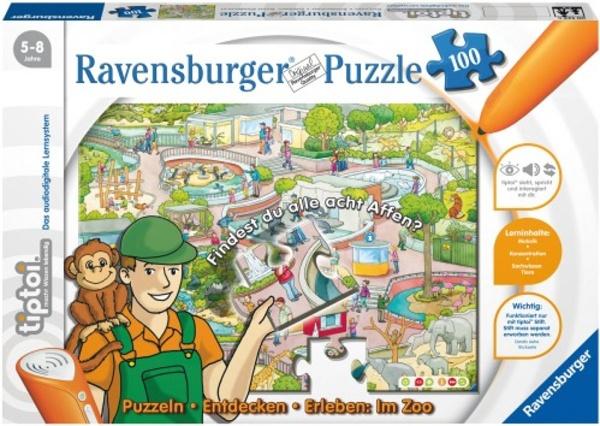 tiptoi Lernpuzzle Im Zoo 100 Teile
