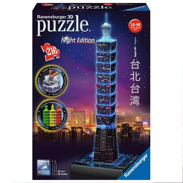 Ravensburger 3D Puzzle Taipei 101 bei Nacht