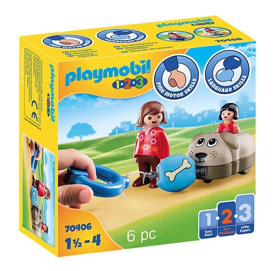 Playmobil 70406 1.2.3 Mein Schiebehund