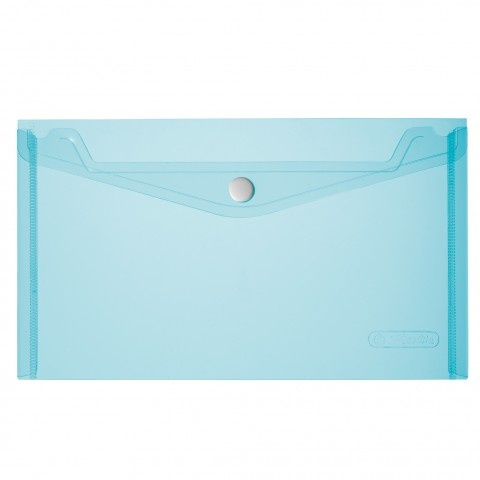 Herlitz Dokumententasche A5 transparent blau