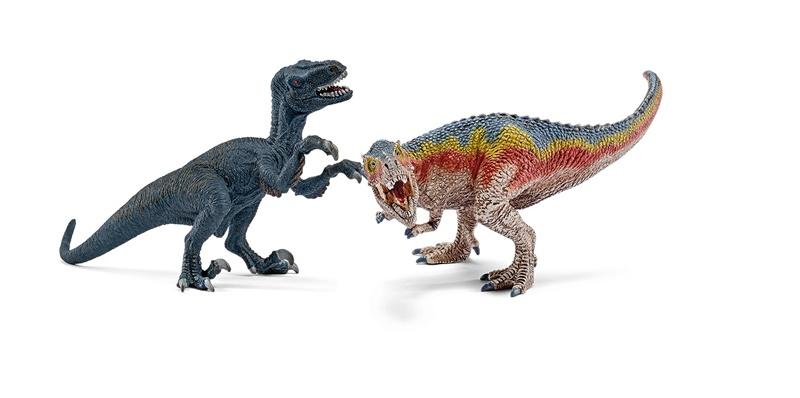 Schleich T-Rex und Velociraptor 42216