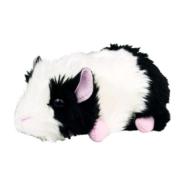 Teddy Hermann Meerschweinchen schwarz/weiß 15 cm