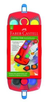 Faber Castell Farbkasten Connector 12er