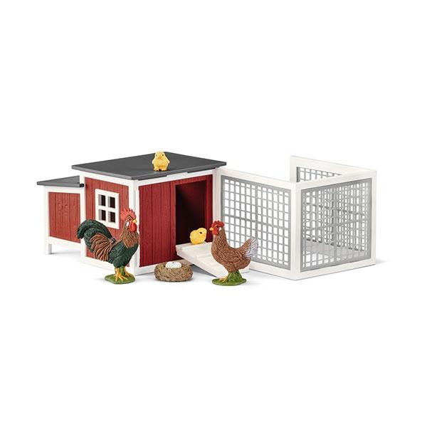 Schleich Farm World Hühnerstall 42421