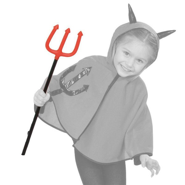 Kostüm-Zubehör Kinder - Teufelsgabel 58cm