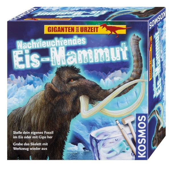 Ausgrabungsset Nachtleuchtendes Eis-Mammut von Kosmos