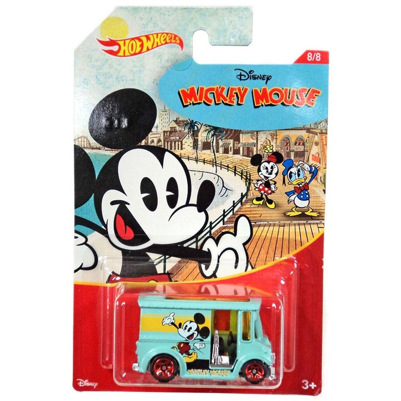 Hot Wheels Mickey Mouse Bread Box