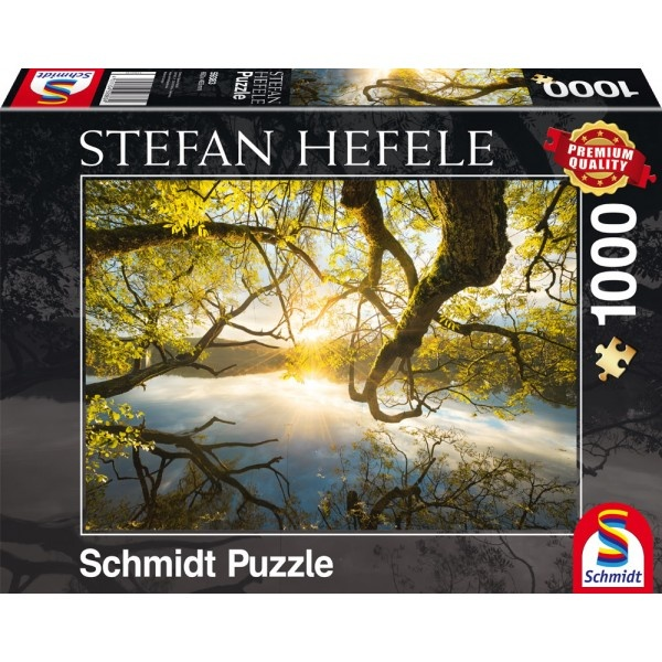 Puzzle Stefan Hefele Umarmung aus Gold