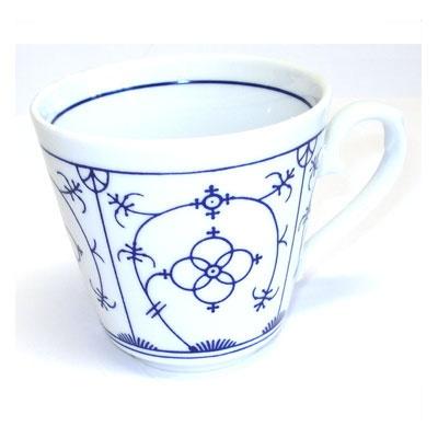 Triptis Winterling Strohmuster Kaffee-Obertasse konisch