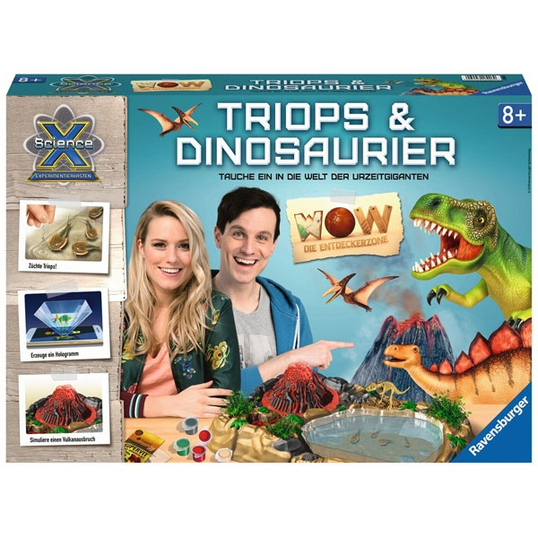 ScienceX WOW Triops & Dinosaurier von Ravensburger