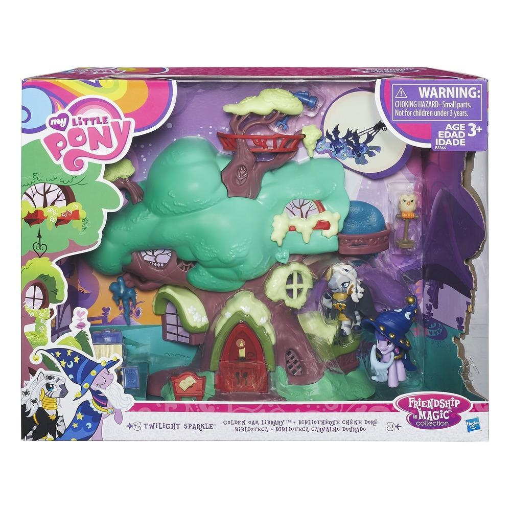 My Little Pony Spielset Twilight Sparkles Bücherei