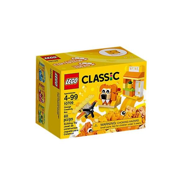 Lego Classic 10709 Kreativ-Box orange