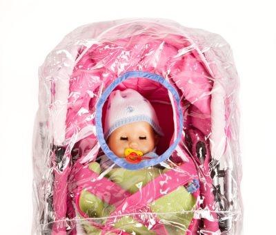 Regenschutz für Puppenwagen von Heless
