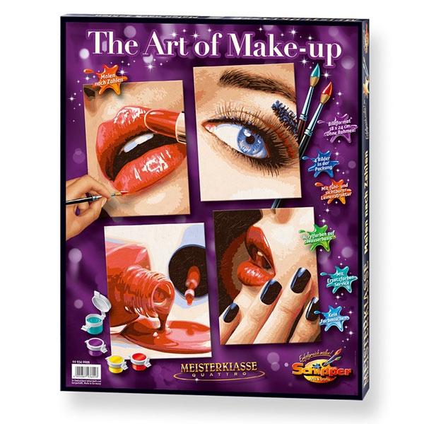 Schipper Malen nach Zahlen The Art of Make-up