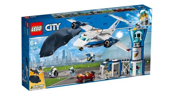 Lego City 60210 Polizei Fliegerstützpunkt