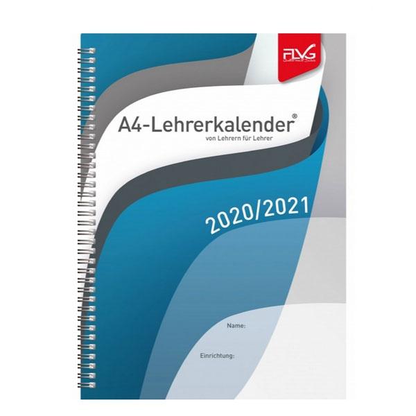FLVG Lehrerkalender von Lehrern für Lehrer 2020/2021 (A4)