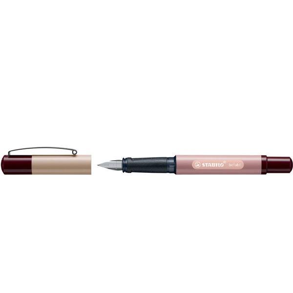 Stabilo Füllhalter beFab Duo Colors sand/rosa