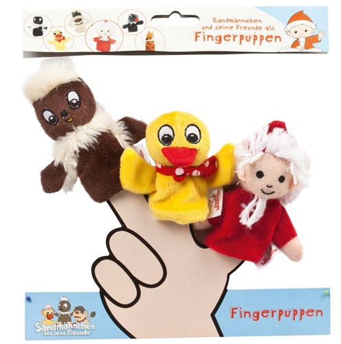 Sandmann Fingerpuppen-Set 3 Figuren