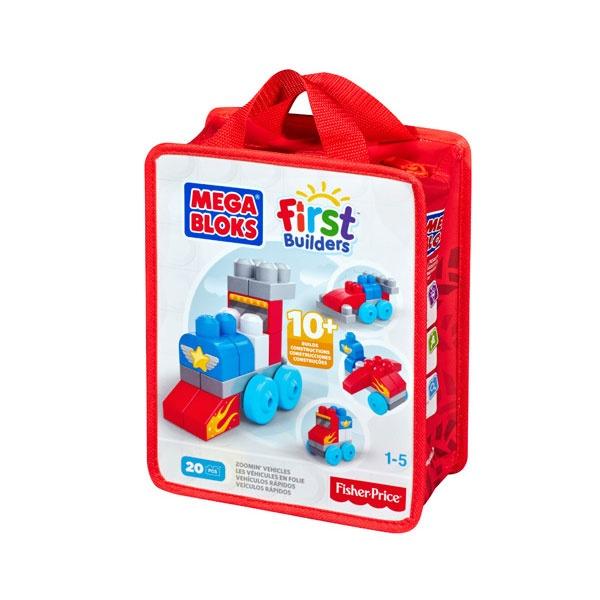 Mega Bloks Tasche Lustige Fahrzeuge
