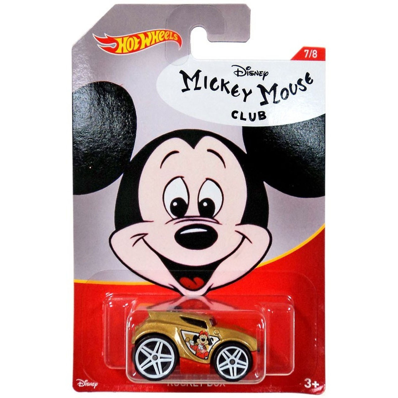 Hot Wheels Mickey Mouse Rocket Box