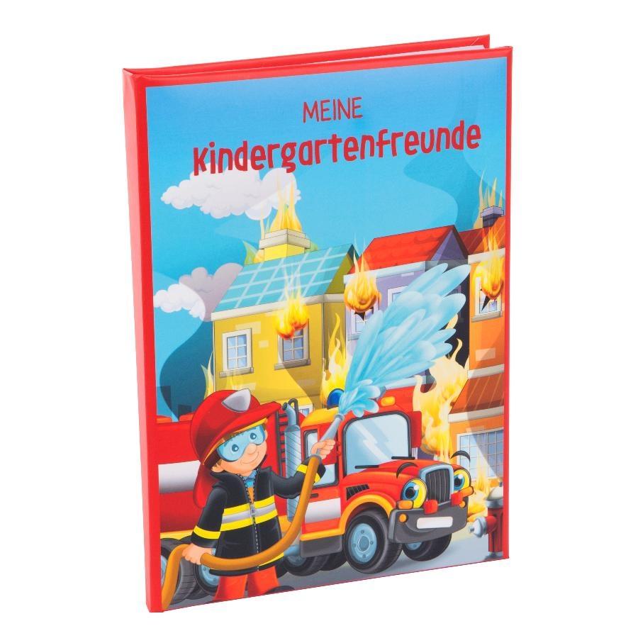 Goldbuch Kindergarten-Freundebuch Feuerwehr