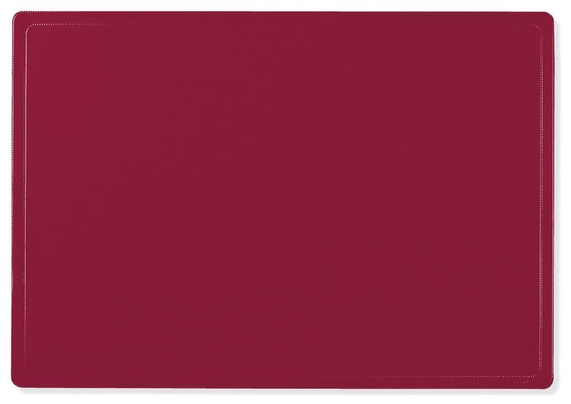 Schreibunterlage 50 x 65 rot von Veloflex