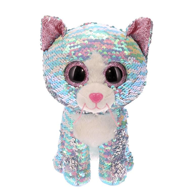 Ty Flippables Whimsy blaue Katze 24 cm