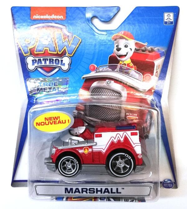 PAW Patrol True Metal Vehicles Marshall II Metall-Auto