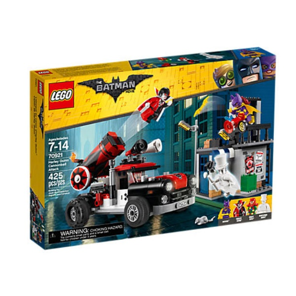 Lego Batman 70921 Harley QuinnT Kanonenkugelattacke