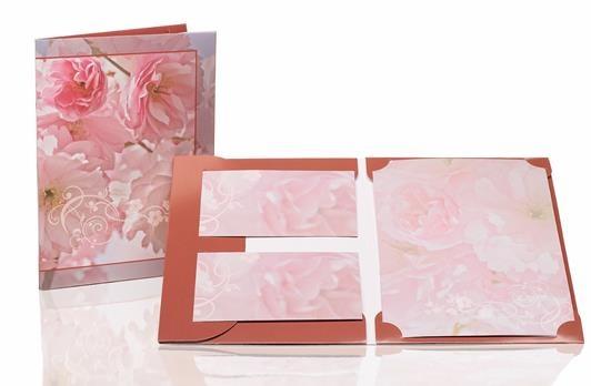 Briefpapier Blütenpracht