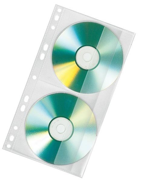 Veloflex CD-Rom Doppelhüllen 10 Stück