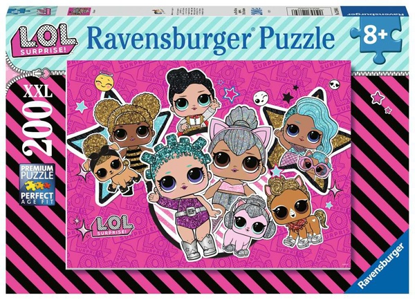 Ravensburger Puzzle LOL Surprise 200 Teile