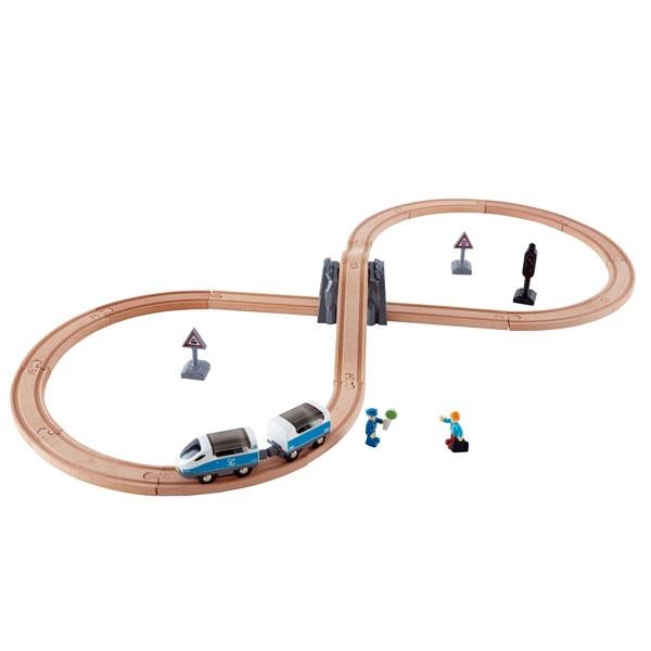 Hape Sicherheits-Set Acht Eisenbahn