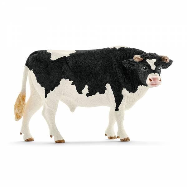 Schleich Farm World Bulle Schwarzbunt 13796