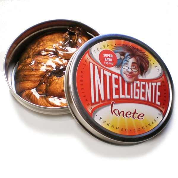 Intelligente Knete Super Lava