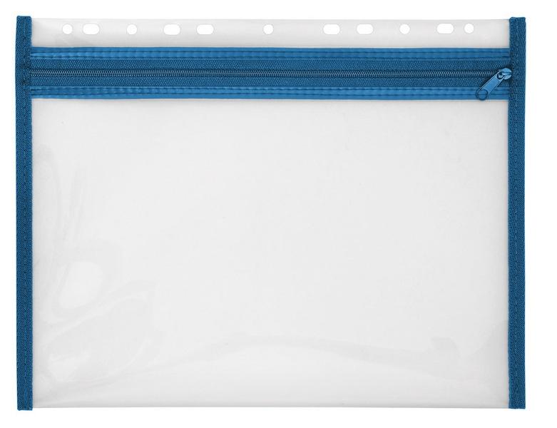 Veloflex Reissverschlusstasche Velobag XS blau