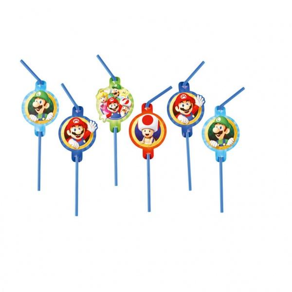 Super Mario Trinkhalme