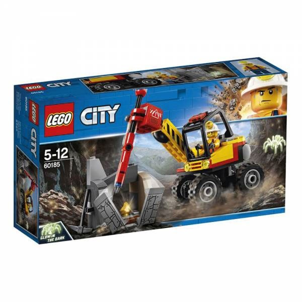 Lego City 60185 Power-Spalter für den Bergbau