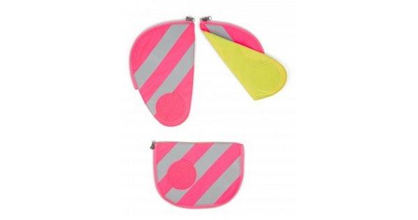 Ergobag Zubehör Pack Seitentaschen Sicherheitsset pink