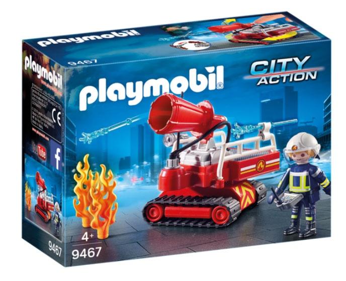 Playmobil 9467 City Action Feuerwehr-Löschroboter
