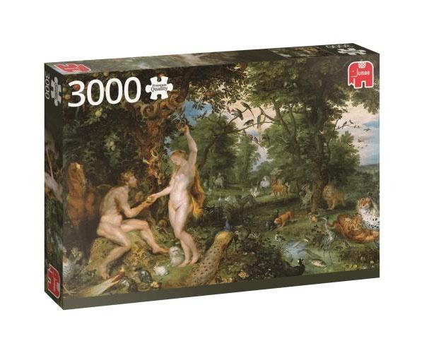 Puzzle Rubens Der Garten Eden 3000 Teile von Jumbo