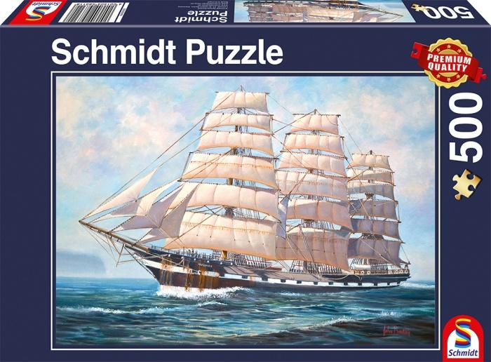 Schmidt Spiele Puzzle Segel gehisst 500 Teile