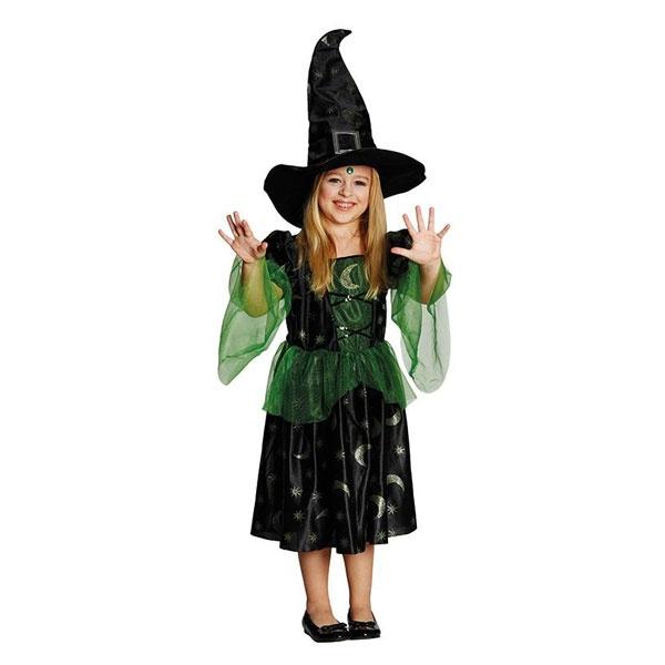Kostüm Magierin schwarz 116