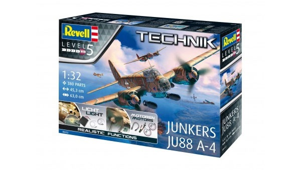 Revell 00452 Junkers JU88 A-4      1:32