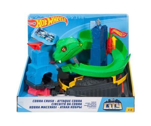 HotWheels City Kobra-Angriff Set