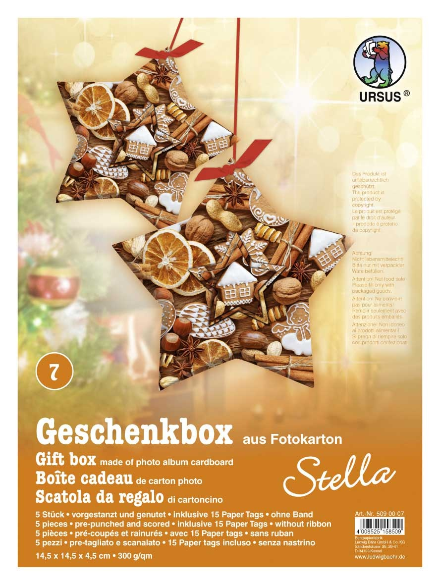 Bastelmappe Geschenkbox Stella Motiv 07