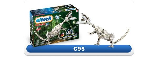 eitech Metallbaukasten C95 Dinosaurier T-Rex