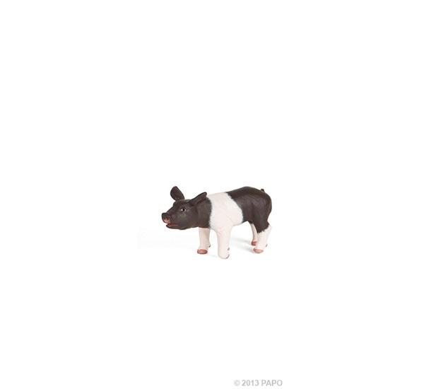 Papo 51139 Schäbisch-Hällisches Ferkel schwarz/weiß